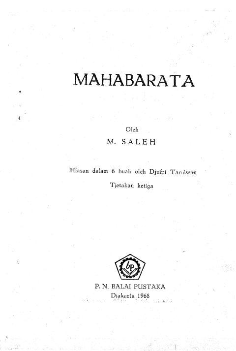 M. Saleh - Mahabarata